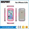 Os acessórios transparentes do telefone móvel Waterproof a caixa para o iPhone 6/6s