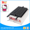 Электрический цифровой мини-Kitty мультфильм форму вафель с маркировкой CE