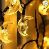 Indicatore luminoso solare della stringa della decorazione della stella del LED