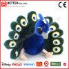 Stuk speelgoed van de Pauw van de Pluche ASTM het Realistische Gevulde Dierlijke Zachte Peafowl