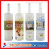 bottiglia di vino 750ml con la bottiglia di vetro della decalcomania e glassato della vodka