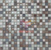 유리와 Stone Mixed Crystal Mosaic Tile (CS131)