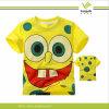 Camiseta impresa/Buena Calidad 100% algodón camisetas para niños (F96)