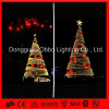 옥외 LED Light 3D Motif Giant Christmas Tree