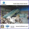 Большой объем бумажных отходов в горизонтальном положении нажмите машины