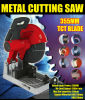 355m m 14  2300W 15A Power Professional Multi Function Steel/Metal/Aluminum/Wood/Copper Cutting Cut off Machine Chop Saw Electric Dry Cutter (GW8039)