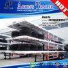 3 remorque de conteneur du lit plat 40ft de plate-forme d'essieux pour la Mozambique