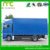 Couverture traitée imperméable à l'eau de bâche de protection de PVC pour le camion