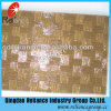 5mm Amber/de Grijze/Voorgesteld/Gevormd Flora van het Brons/Nashiji/Karatachi Glas
