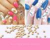 2016 최신 Selling Nail Art 3mm 4mm 5mm 6mm Alloy Pearl Decorations Nails