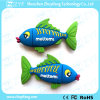 Encargo de PVC de peces tropicales de 4 GB USB Flash Drive (ZYF1000)