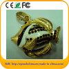 Disque de flash USB de diamant de forme de poissons de qualité (ES626)