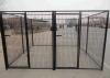 Cage galvanisée sûre de crabot d'animal familier de maillage de soudure