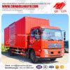 Vrachtwagen van de Doos van de Lading van de rode Kleur de Droge met 2 ZijDeuren