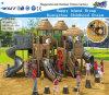 Equipamento ao ar livre Hf-10401 do jogo de crianças do campo de jogos de madeira