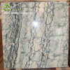 Mattonelle Polished del rivestimento della parete del pavimento della stanza da bagno del marmo verde dei filoni del loto
