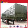 Remorque de bétail de frontière de sécurité de 3 essieux de Fuwa