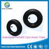 Tubos internos do pneumático industrial de borracha natural do Forklift de /Butyl 5.00-8 Js2