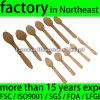 小型Ice Cream Spoon Wood Disposable (wdc-100スプーン)