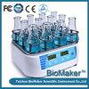 Incubadora do abanador do laboratório do indicador do LCD com Ce Confrimed