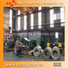 강철 건축재료를 위한 코일에 의하여 직류 전기를 통하는 물결 모양 루핑 장