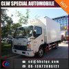 De Lichte 5mt 5m3 Geïsoleerdee Vrachtwagen van de Diepvriezer van het Vlees van de Doos JAC Vrachtwagen Bevroren
