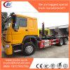 6X4 het Afneembare Broodje van de Container HOWO van Vuilnisauto met wapen-Haak