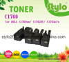 Tonalizador da impressora de laser para o cartucho de tonalizador da cor de DELL C1760/C1760nw/C1765/C1765NF/C1765nfw/C1760mfp/C1765mfp/1760
