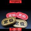 2017 posicionamentos de tipo ovais novos da tela de seda do ouro do projeto do fornecedor para os jogos Ym-Le03 do póquer do casino