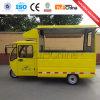 Automobile mobile multifunzionale del pranzo dell'alimento da vendere