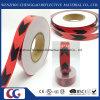 Bande r3fléchissante de flèche de PVC