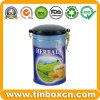 Tee-Zinn, Tee-Kasten, Tee-Transportgestell, Zinn-Tee-Dose, Zinn-Tee-Kasten