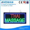 Muestra tailandesa del masaje LED de la baja tensión del rectángulo de Hidly