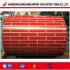 Motif de briques enduites d'impression couleur de l'acier manufacture de bobine