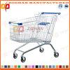 슈퍼마켓 유럽 작풍 아연 또는 크롬 쇼핑 카트 (Zht16)