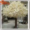 Flor de cereja artificial branca decorativa Wedding da árvore