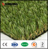 Hierba de alfombra artificial natural al aire libre para el jardín