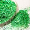 Aluminium-Laser-Grün-Funkeln-Puder für Einspritzung