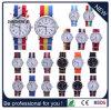 Vigilanze del nylon di alta qualità, materiale della cassa della lega, vigilanza del quarzo, orologio di modo (DC-162)