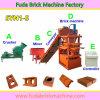 Petite machine automatique de brique de Lego d'argile de presse hydraulique pour la production