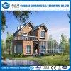 De moderne Europese Stijl Geprefabriceerde Villa van de Structuur van het Staal