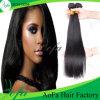 Cabelo malaio de Remy do ser humano em linha reta 100% do Virgin do cabelo