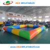 Portable personnalisé carrés piscine gonflable pour adultes