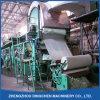 Cadena de producción de papel del tejido usando el papel usado