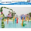 Campo de jogos engraçado do parque da água do jogo dos miúdos (A-07301)