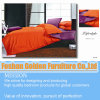 Оранжевый цвет кровати