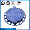 Coperchio di botola rotondo del pezzo fuso di sabbia del ghisa duttile En124/(C250/D400/E600/F900)