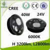 CREE 40W farol do diodo emissor de luz de 5.75 polegadas para o poder superior de Harley