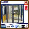 Раздвижная дверь застекленная алюминием (3 следа)