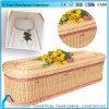 Новый гроб вербы кремации Eco Entironment конструкции с розовой полосой